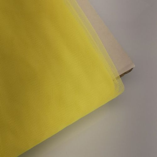 Soft Tull |Light Yellow 150 cm | Poly Tulle Blush